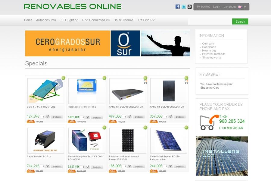 Renovables Online