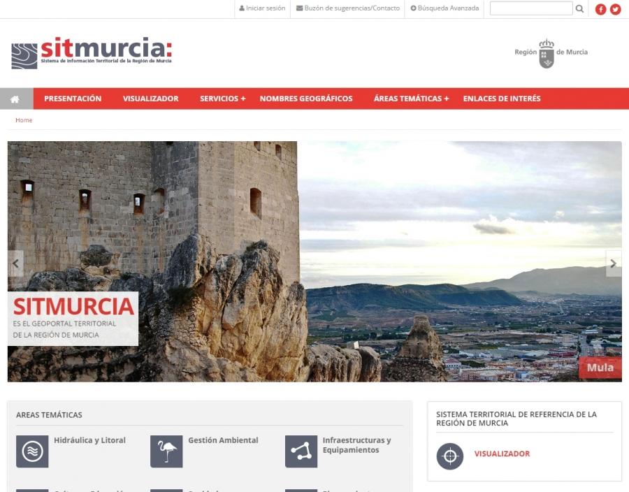 Sistema de Información Territorial de la Región de Murcia