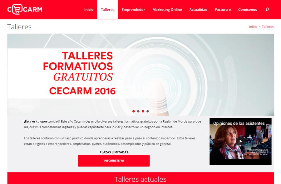 Talleres CECARM 2016