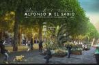 Peatonalización Alfonso X